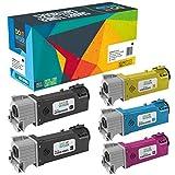 Cartuccia toner Do it wiser compatibile in sostituzione di Xerox WorkCentre 6505, 106R01597, 6505N, 6505DN, Xerox Phaser 6500, 6500N, 6500DN (Confezione da 5)