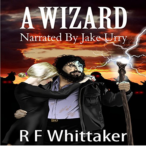 A Wizard audiobook cover art