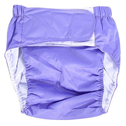 Broco Durable Adult Stoffwindel, PC New Adult waschbar adjuatable Stoffwindel atmungsaktiv wiederverwendbar Super Saugfähigkeit Windel Medium Inkontin
