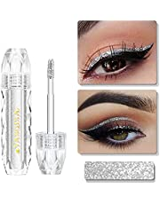Oogschaduw Vloeibare Oogschaduw Glitter Oogschaduw Primer Make-up Glitter Voor Ogen, Oogschaduw Palet Langdurig, Sneldrogend, Oogschaduw Glitter Make-upmetalen Glans Voor Ogen Eyeliners