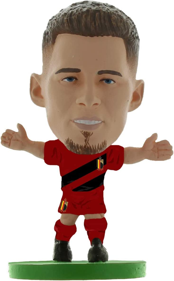 SoccerStarz Belgium Free Shipping New shop Thorgan Hazard Figures Kit