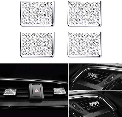LECART 4Pcs Bling Central Dashboard Air Vent Cover for Honda 10th Gen Civic Interior Accessories product image