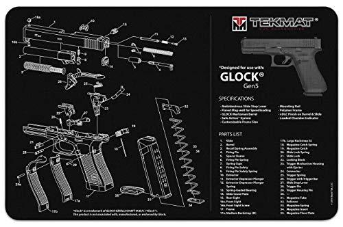 TekMat 'Glock Gen 5 Gun Cleaning Mat 20'', Durable,...