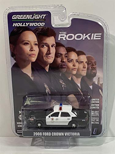 The Rookie - 2008 Ford Crown Victoria Police Interceptor Los Angeles Police Dept. (LAPD) TV Series 1:64 Greenlight