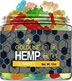 Large Hemp Gummies for Stress Relief Gummy - Great for Pain, Insomnia & Anxiety Management - Relaxing Gummies – Premium Blend - Mood & Immune Support