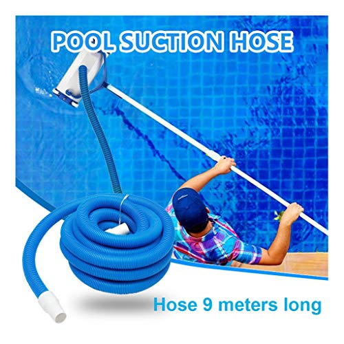 Best Review Of Anyren 9M/15M Inground Swimming Pool Vacuum Cleaner Hose Suction Pool Cleaners Durabl...