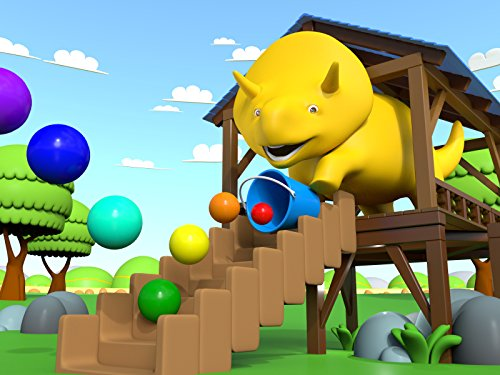 Dino plays Marbles / The bouncing balls