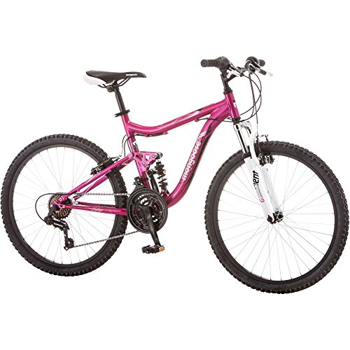 2434; Mongoose Ledge 2.1 Girls39; Mountain Bike, Pink