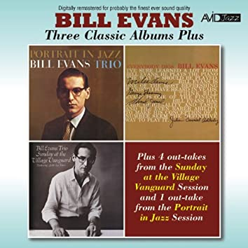 Three Classic Albums Plus (Portrait in Jazz / Everybody Digs Bill Evans / Sunday at the Village Vanguard) [Remastered]