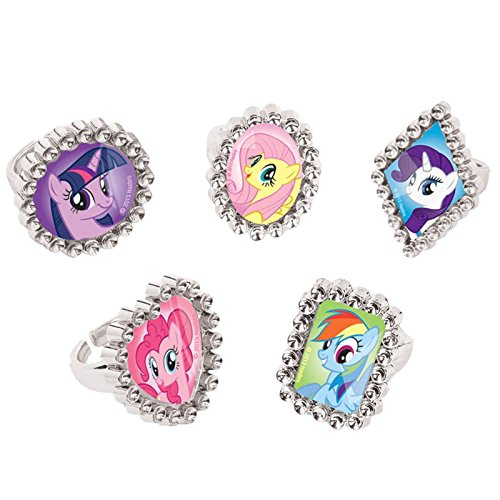 My Little Pony Jewel Party Rings 8pk