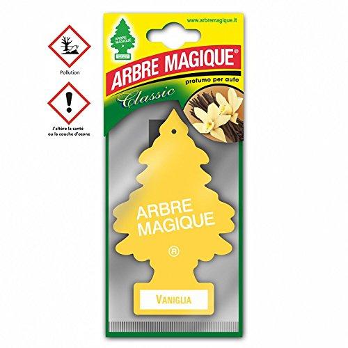 les colis noirs lcn Arbre Magique Vanille - Accessoire Désodorisant Voiture - 300