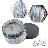 Haarwachs Temporäres Haarfarbe Wachs, Unisex Haarfärbemittel Wachs, Waschbares Pflanzenformel...