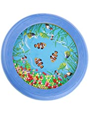 MagiDeal Oceaantrommel, 18 X 18 X 2,5 Cm, Muzikaal Educatief Speelgoed voor Kinderen