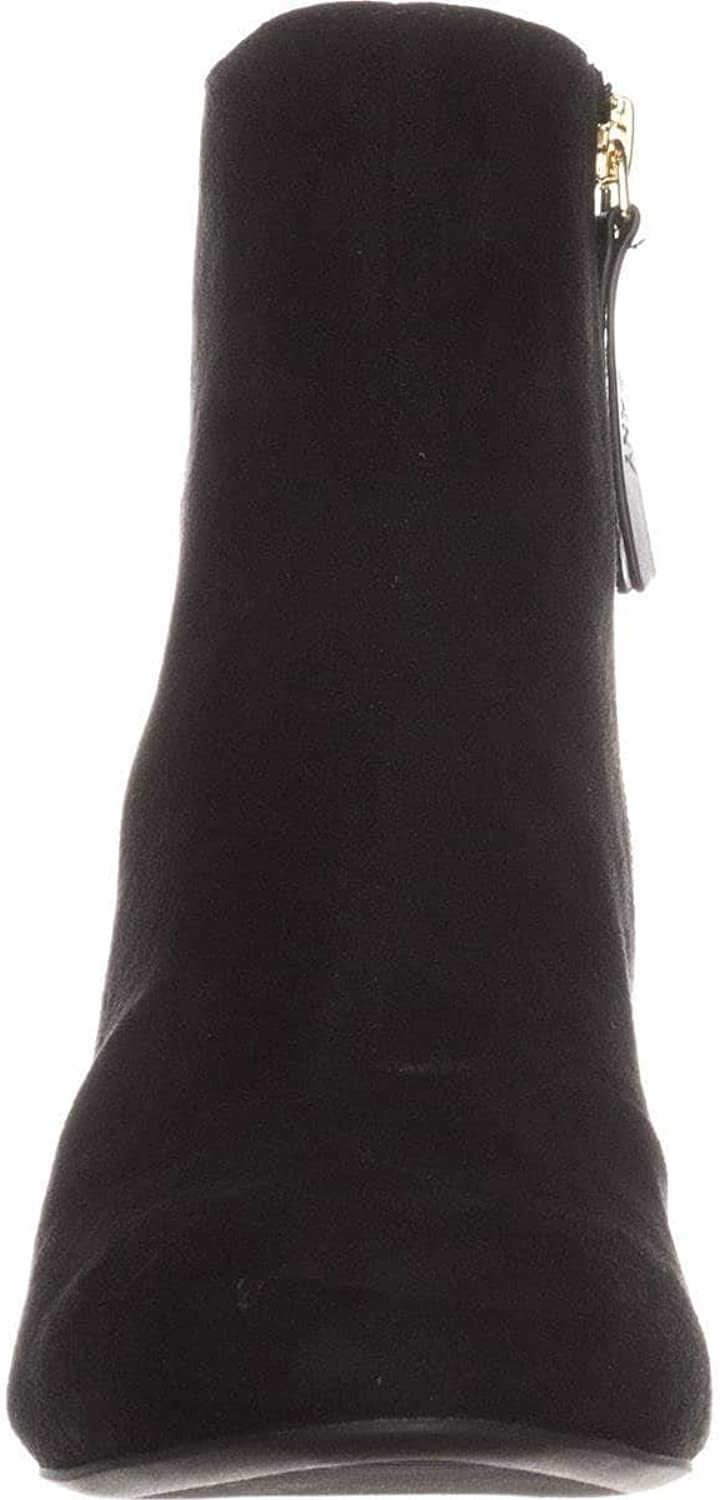 DKNY Womens Corrie Leather Casual Ankle Boots
