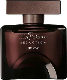 Coffee Man Seduction Eau de Toilette by O Boticario | Long Lasting Perfumes for Men | Fresh Woody Men's Fragrance (3.4 fl oz)