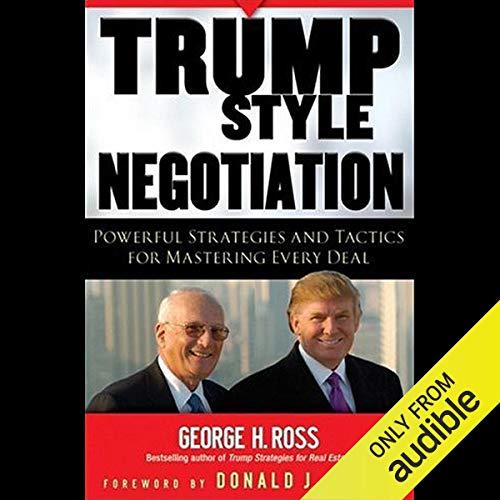 Trump Style Negotiation Titelbild