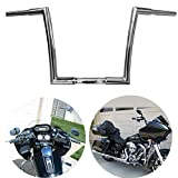TTX-LIGHTING 1 1/4' Chrome 12' Ape Hanger Handlebar Drag Bar For Harley...