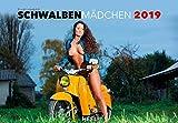 Schwalbenmädchen 2022: 12 Motive des Kultmotorrads der ehemaligen DDR erotisch in Szene gesetzt
