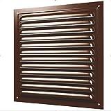 Rejilla de ventilación de metal con protección contra insectos, rejilla de ventilación, aireación