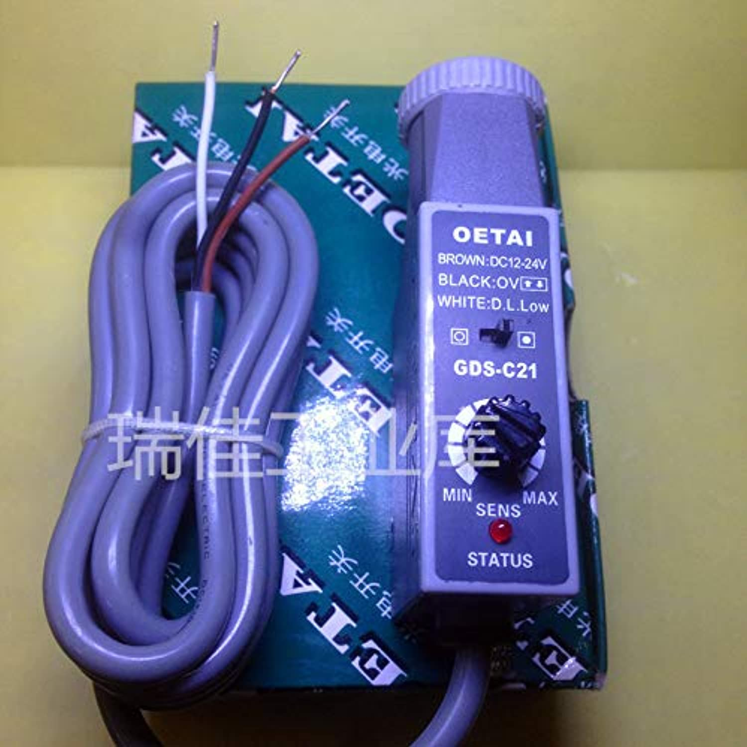 GDSC21 Green color photoelectric Sensor Switch Making Electromechanical