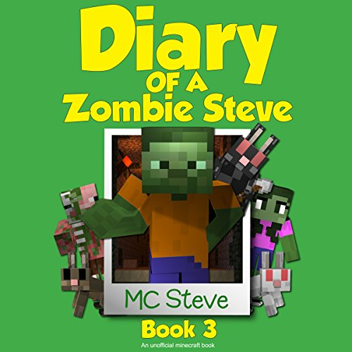 Diary of a Minecraft Zombie Steve Book 3: Lost Temple audiobook cover art
