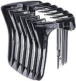 YANQIN Peine Guia para Recambio Maquina Pelo Cortapelo, para Philips HC3400 HC3402 HC3410 HC3412 HC3420 HC3422, Professional Maquinilla Cabezales