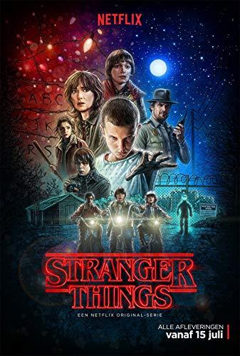 Stranger Things 1 Poster - Matte Poster Frameless Gift 11 x 17 inch(28cm x 43cm)*IT-00023