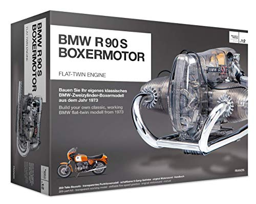 BMW R/90-S Flat Twin Engine Model Kit with Collector's Manual