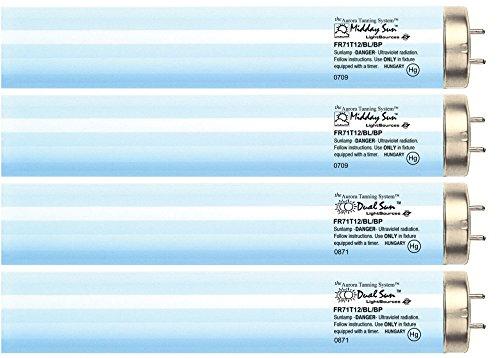 Midday Sun & Dual Sun Face & Body Reflector Tanning Lamp Kit FR71T12 Bipin (RFL) (16)
