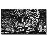 XQWZM Wandkunst Bild Poster, All Blacks Neuseeland Rugby
