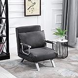Immagine 1 homcom divano letto multifunzionale 2