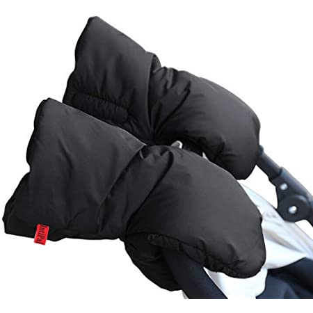 FENICAL 1 Pair Stroller muff Winter Waterproof Anti-Freeze warm fingerless gloves Warm Winter Baby Stroller Gloves