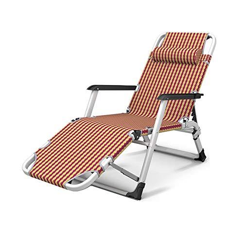 Qivor Silla Plegable Sillón reclinable reclinable reclinable reclinable reclinador de Playa de Playa
