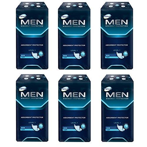 TENA For Men Level 1 Einlagen - 4 Packungen / 4 x 24 = 96 Stück