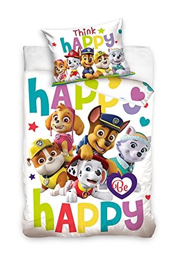 Paw Patrol Pościel dziecięca - Childrens Bedding - Literie Enfant - Ropa de cama para niños - Bincheria da letto per Bambini 100x135 cm / 40x60 cm BABY203002