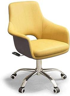Barir Inicio giratoria de oficina Ocio sillas giratorias ajustable ergonómica de piel de alta Volver escritorio de la computadora de oficina Silla Cojín Mejor Ejecutivo linda casa de muebles de oficin