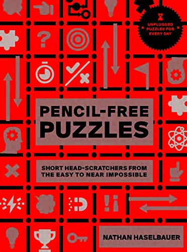 60-Second Brain Teasers Pencil-Free Puzzles: Short Head-Scratchers from the Easy to Near Impossible Front Cover