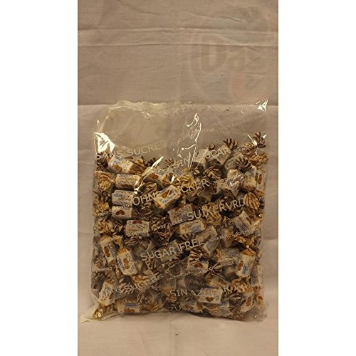 De Bron Sugarfree Toffees sortiert 1000g Beutel (Zuckerfrei)