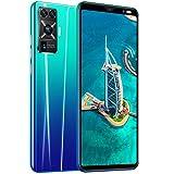 ZZYH Teléfono Móvil Android 9.1, 4GB RAM+64GB ROM, Smartphones Sin SIM Desbloqueados, Pantalla 5.5 Pulgadas, Teléfono Dual SIM Free, 4800mAh, Frontal 8MP+Cámara Trasera 16MP, Face ID