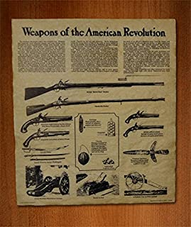 Our Amendments Weapons of the American Revolution 14x16