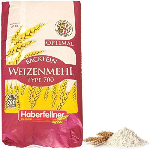 Haberfellner Weizenmehl Type 550 / W700 optimal (25 kg)