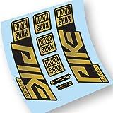 Rock Shox Pike Ultimate 2020-2021 Pegatinas en Vinilo Adhesivo Horquilla