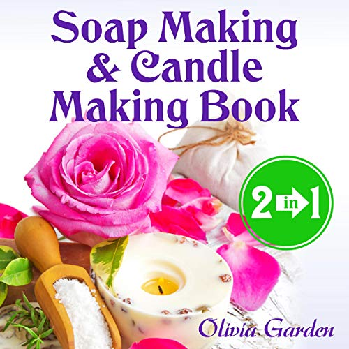 Soap Making and Candle Making Book audiobook cover art