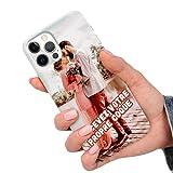 CuteCases Clear Housse pour Motorola Moto E5 Plus Coque de Téléphone Personnalisée avec Photo...