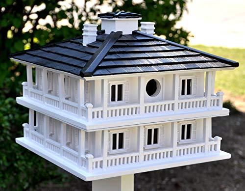 bird houses Home Bazaar Hand-made Clubhouse Bird House - Big Bird House - Home Decor