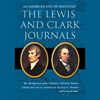 The Lewis and Clark Journals audiobook cover art