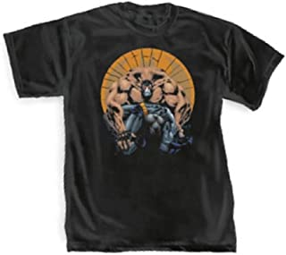 Graffiti Designs Batman Knightfall Bane Breaking Batman officieel gelicentieerd volwassen T-Shirt
