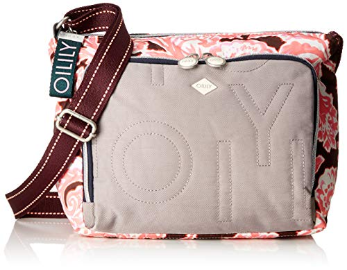 Oilily Damen Charm Shoulderbag Mhz Schultertasche Pink (Rose)