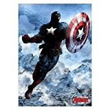 Marvel Comics Metall-Poster Captain America 32 x 45 cm