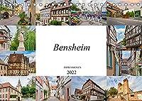 Bensheim Impressionen (Tischkalender 2022 DIN A5 quer): Entdecken Sie die wunderschoene Stadt Bensheim (Monatskalender, 14 Seiten )